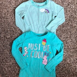 2 for $10 ☀️ 3T Carter's long sleeve tops